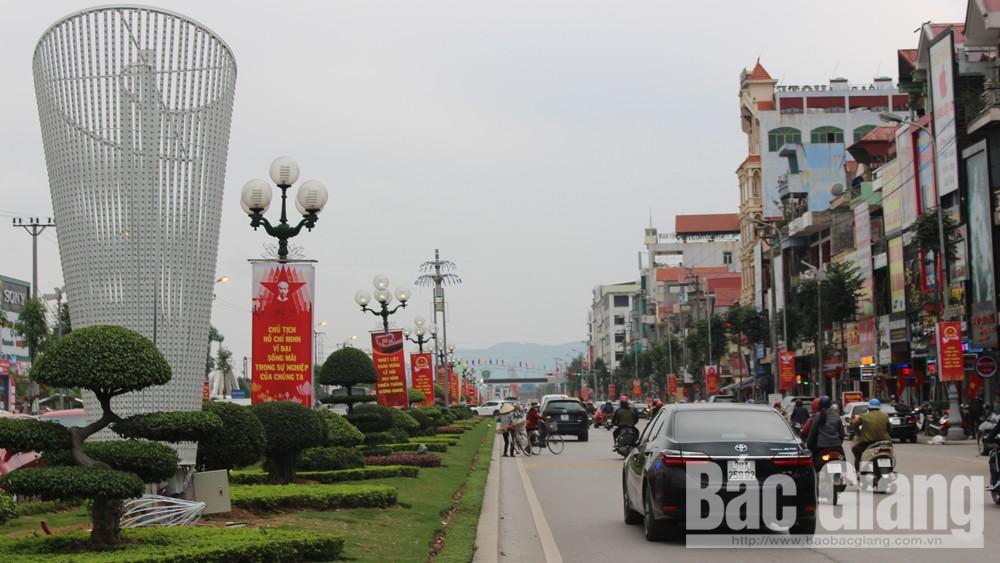 TP Bắc Giang rực rỡ trước thềm xuân